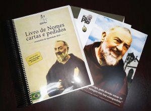 Livro de Intenções ao Correio do Padre Pio