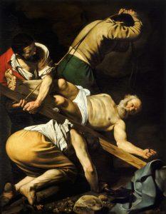 Tela martírio de São Pedro