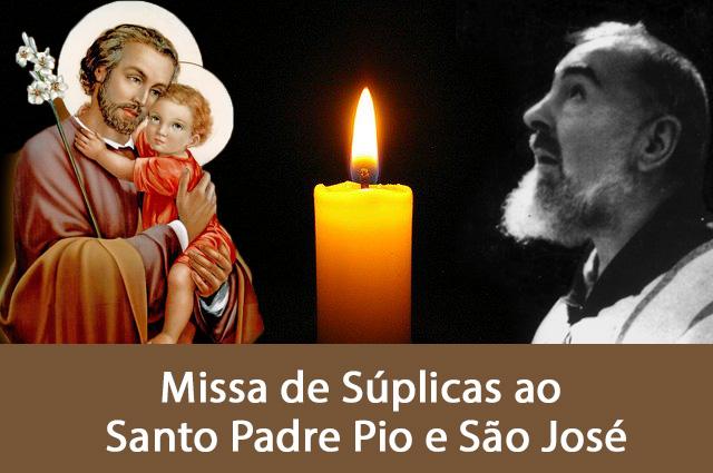 Missa de São José e do Padre Pio